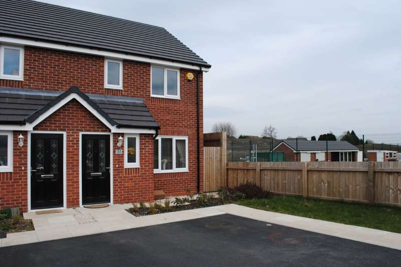 3 Bedrooms Semi Detached House for sale in Manse Gardens, Wigan, WN3