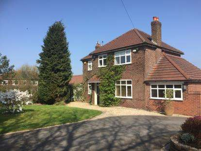 4 Bedrooms Detached House for sale in Hillside Road, Woodley, Stockport, Cheshire