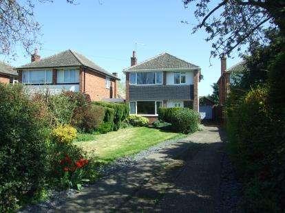 3 Bedrooms Detached House for sale in Rutland Road, Bingham, Nottingham, Nottinghamshire