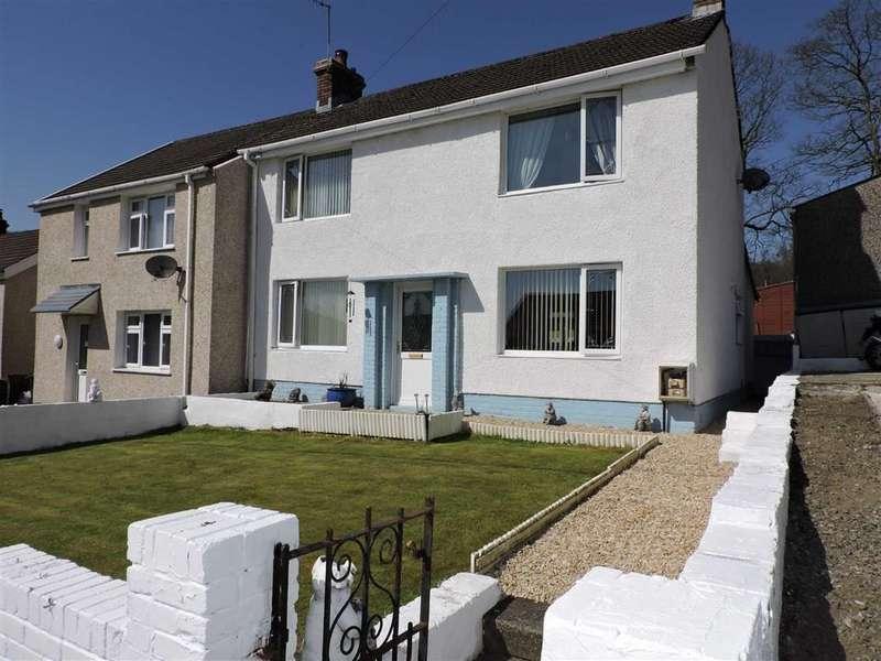 3 Bedrooms Semi Detached House for sale in Pendarren, Cilmaengwyn, Pontardawe