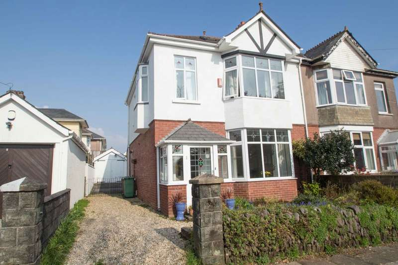 3 Bedrooms Semi Detached House for sale in Hartley, Plymouth