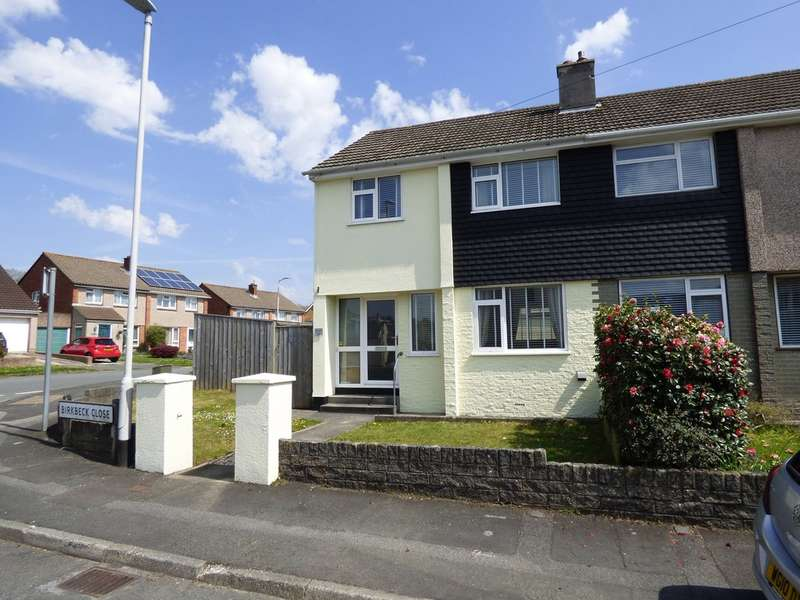 3 Bedrooms Semi Detached House for sale in Colebrook, Plympton