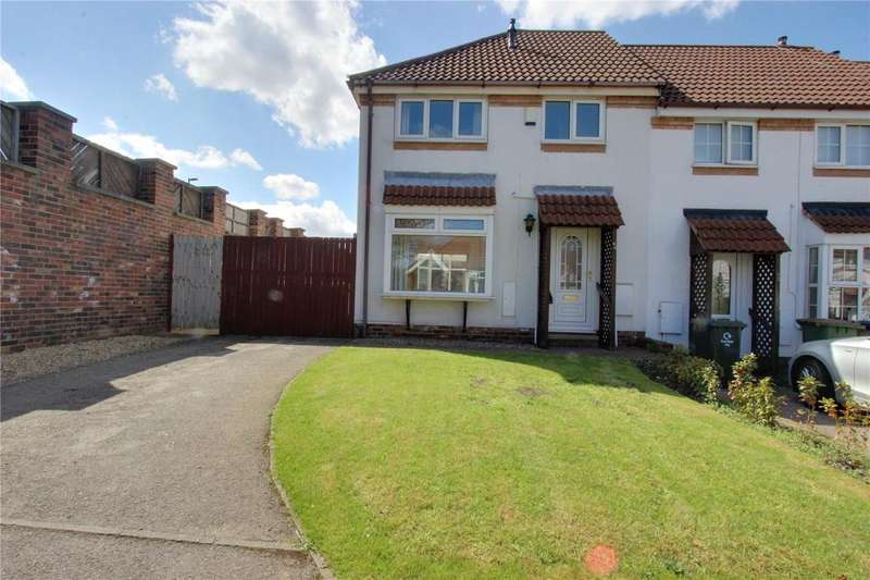 3 Bedrooms End Of Terrace House for sale in Rothwell Mews, Eston