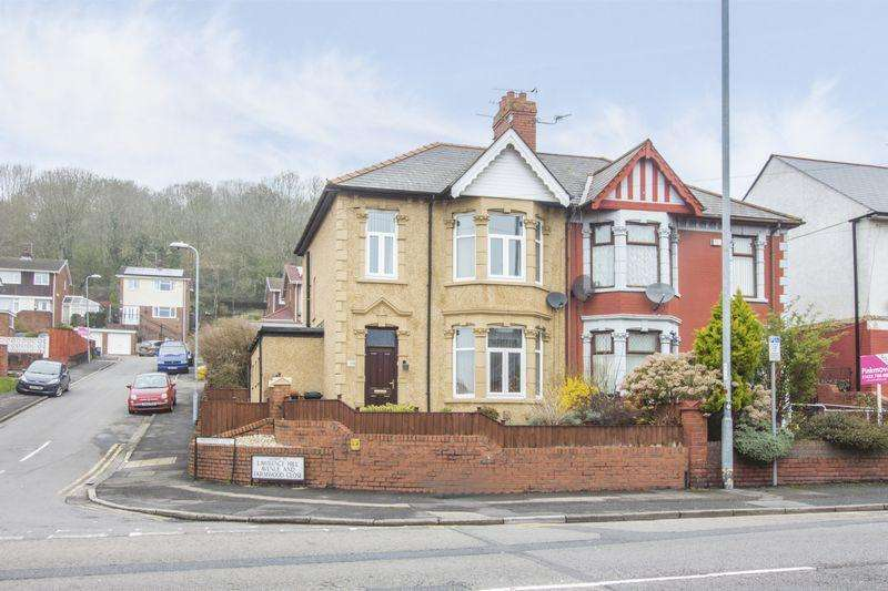 3 Bedrooms Semi Detached House for sale in Chepstow Road, Newport - REF #00003594