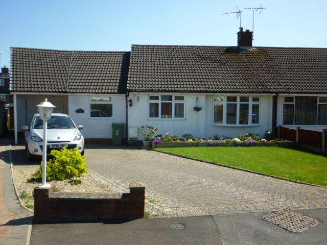 3 Bedrooms Semi Detached Bungalow for sale in CEDAR CLOSE, NORTON, STOURBRIDGE DY8