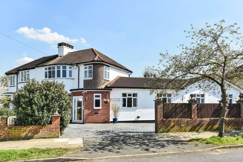 3 Bedrooms Semi Detached House for sale in Holmdale Road, Chislehurst