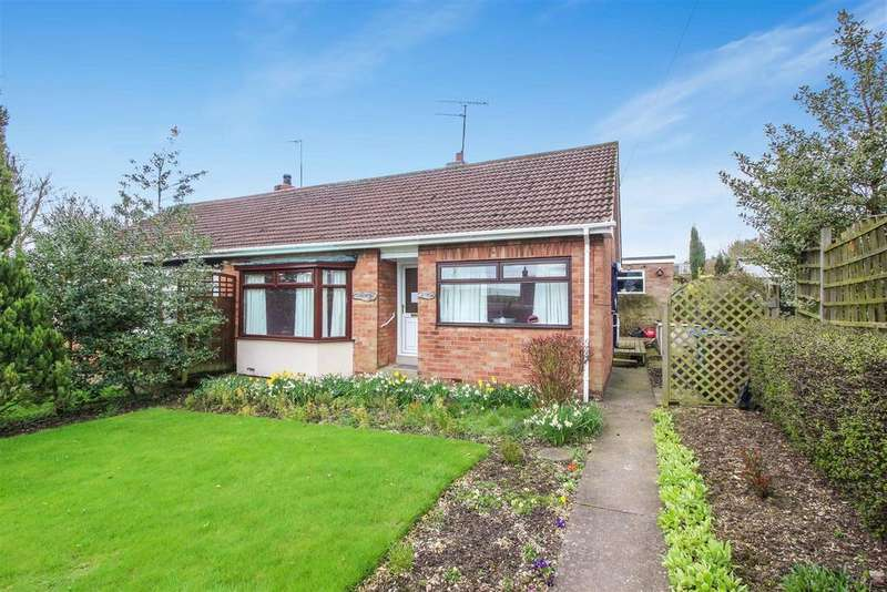 2 Bedrooms Semi Detached Bungalow for sale in Rowley Road, Little Weighton