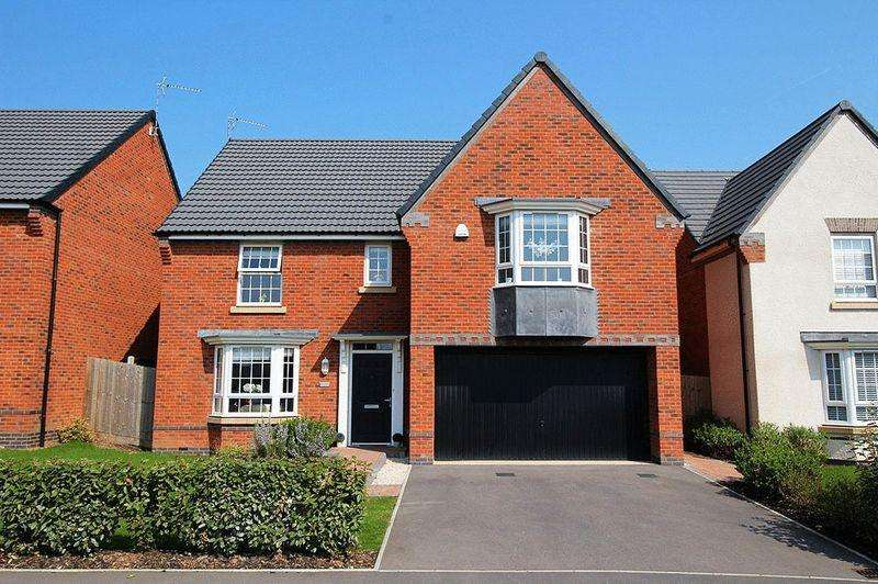 4 Bedrooms Detached House for sale in Chalmers Road, BAGGERIDGE VILLAGE, SEDGLEY, DY3 4BJ