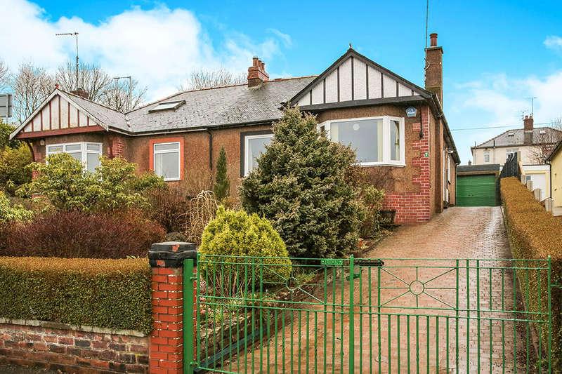 2 Bedrooms Semi Detached Bungalow for sale in Welldale, Dumfries, DG2