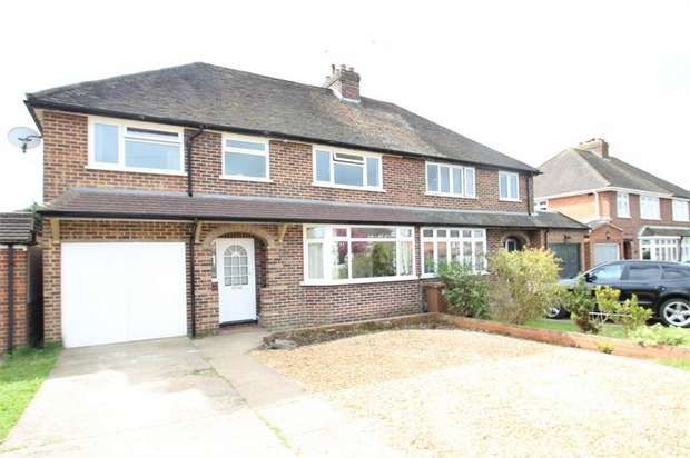 4 Bedrooms Detached House for sale in Dynevor Place, Fairlands, GUILDFORD, Surrey