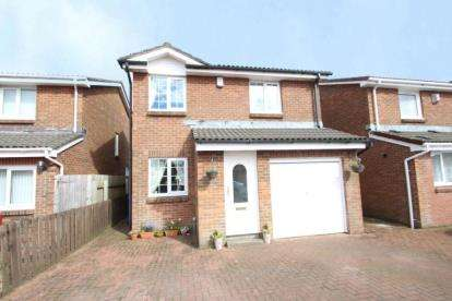 3 Bedrooms Detached House for sale in Shiskine Drive, Kilmarnock, East Ayrshire