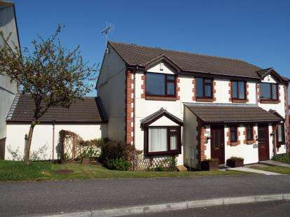 3 Bedrooms Semi Detached House for sale in St. Austell, Cornwall, Uk