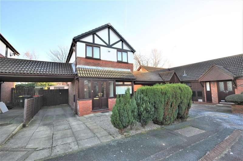 3 Bedrooms Detached House for sale in Cambridge Court, Preston, Lancashire, PR1 7SU