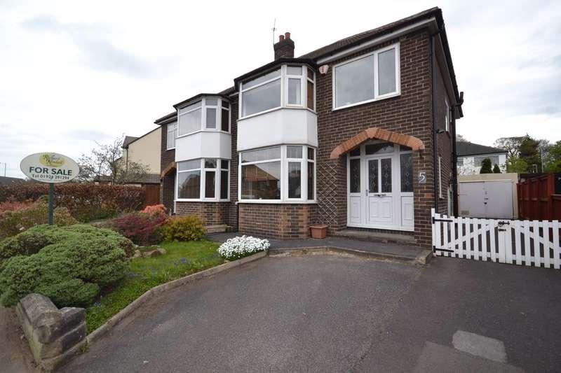 3 Bedrooms Semi Detached House for sale in Kingsley Avenue, Sandal, Wakefield