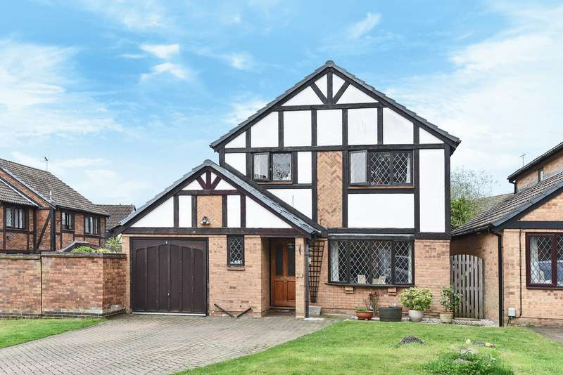 4 Bedrooms Detached House for sale in Chaucer Way, Wokingham, RG41