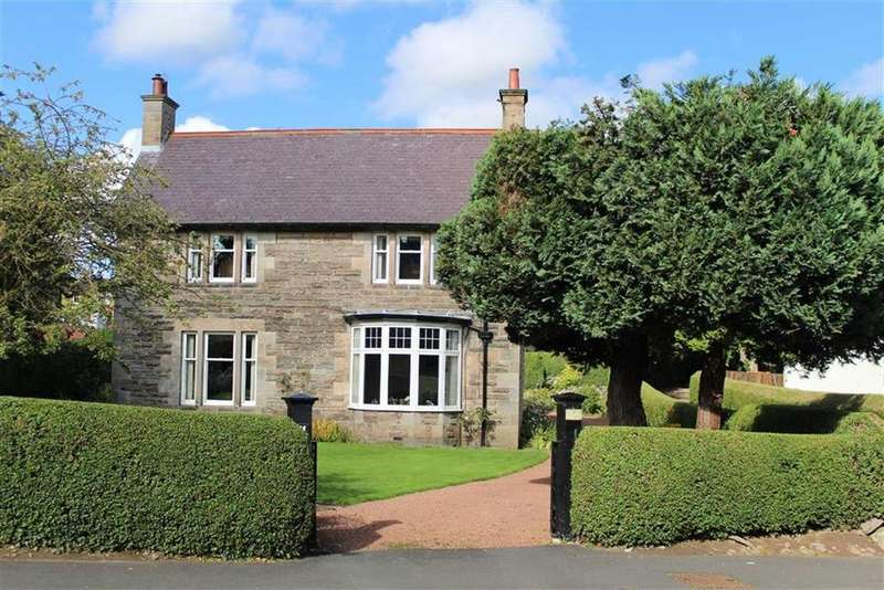 4 Bedrooms Detached House for sale in Ryecroft Way, Wooler, Northumberland, NE71