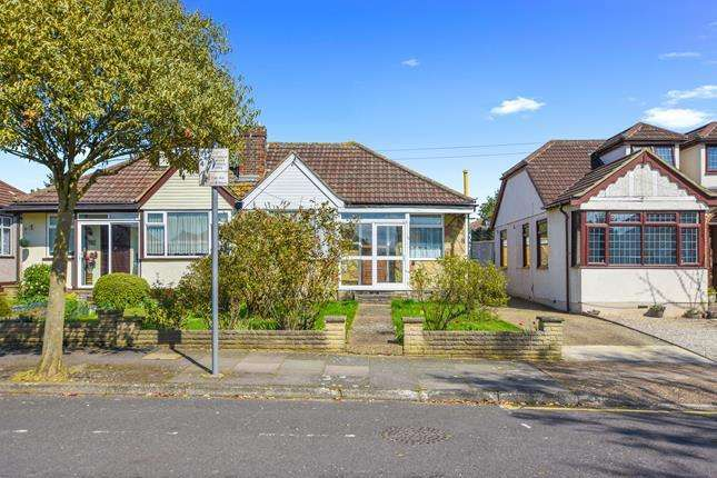 2 Bedrooms Bungalow for sale in David Drive, Romford, Essex, RM3 0YA