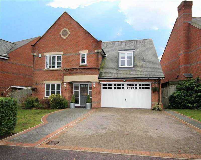 4 Bedrooms Detached House for sale in Beningfield Drive, London Colney, Hertfordshire