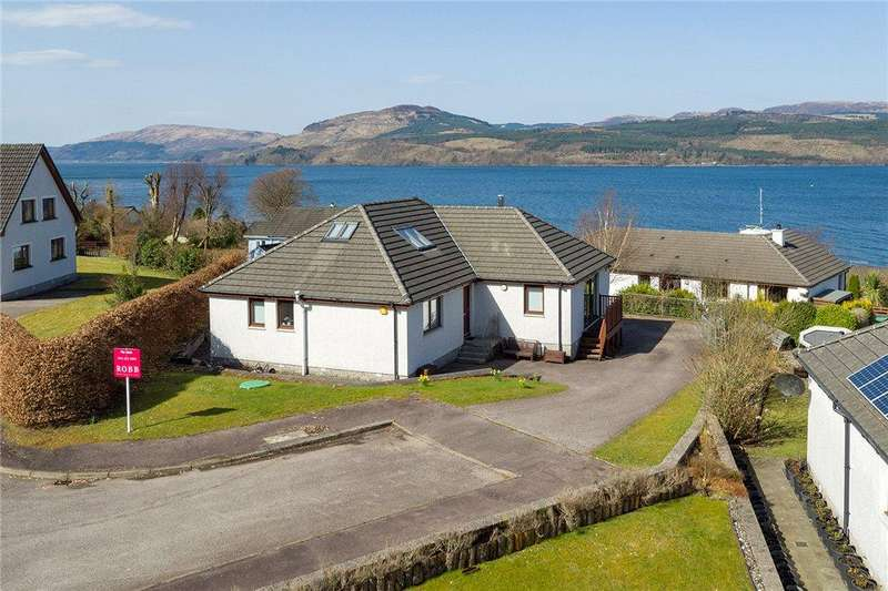 3 Bedrooms Detached Bungalow for sale in Baycrofts, Strachur, Cairndow, Argyll and Bute