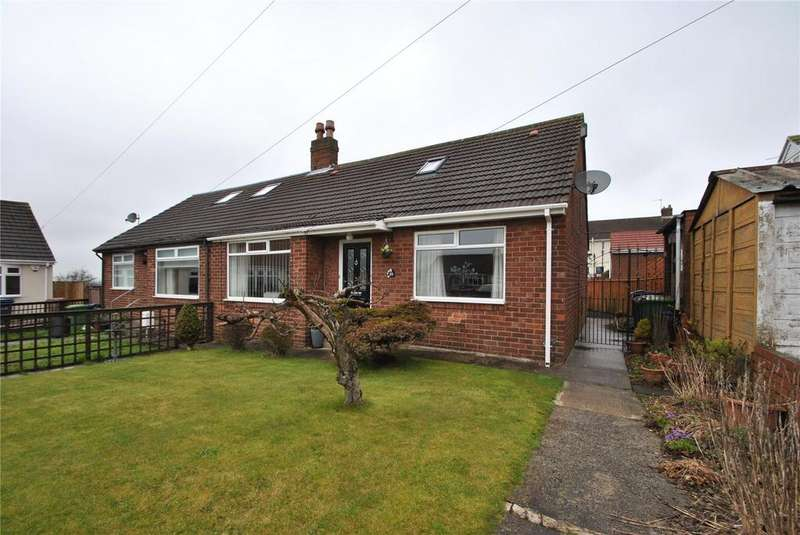 4 Bedrooms Semi Detached Bungalow for sale in Melrose Gardens, Newbottle, Tyne and Wear, DH4