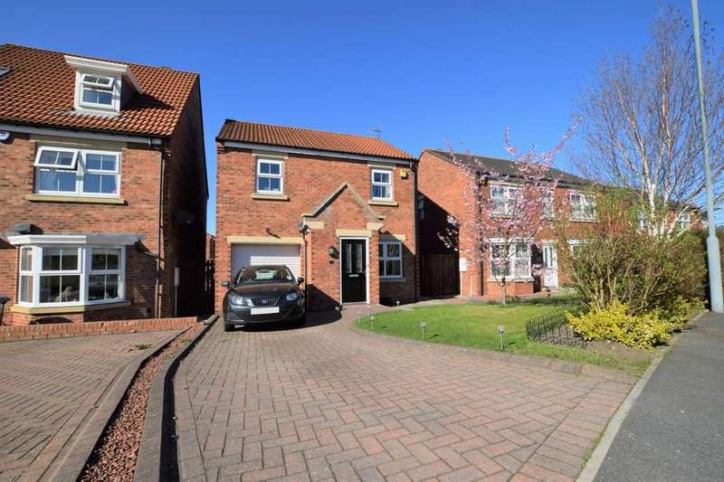 3 Bedrooms Detached House for sale in Orchard Grove, Kip Hill, Stanley