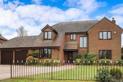 5 Bedrooms Detached House for sale in Shawbury Village, Shustoke, Coleshill, Birmingham
