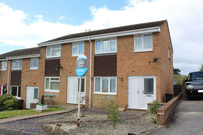 3 Bedrooms End Of Terrace House for sale in Burch Close, Exmouth