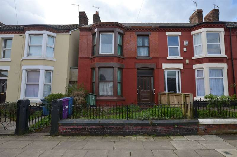 3 Bedrooms End Of Terrace House for sale in Edge Grove, Liverpool, Merseyside, L7