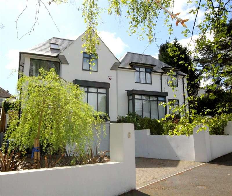 4 Bedrooms Detached House for sale in Compton Drive, Canford Cliffs, Poole, Dorset, BH14