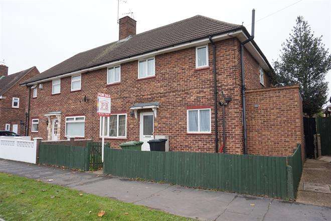 4 Bedrooms Semi Detached House for sale in Grant Avenue, Slough, SL1