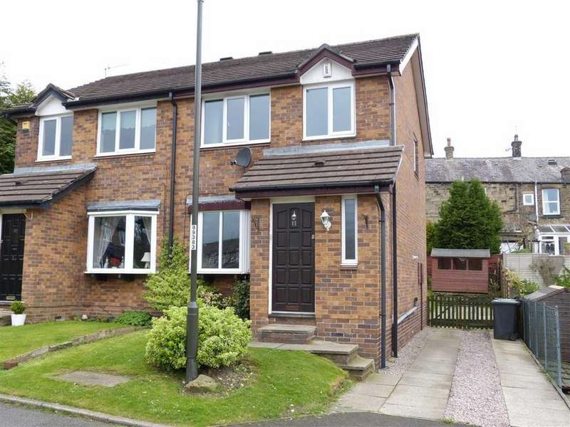 3 Bedrooms Semi Detached House for sale in Arundel Grange, Glossop, Glossop