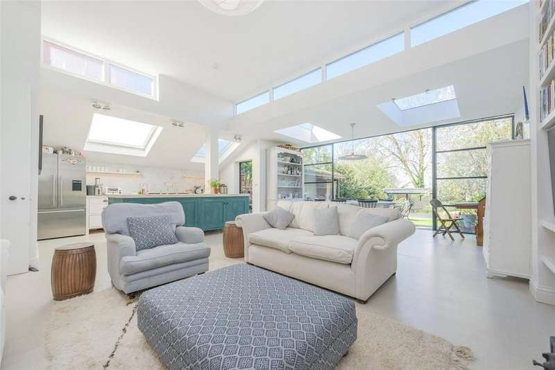 5 Bedrooms Semi Detached House for sale in Longstone Avenue, London, NW10