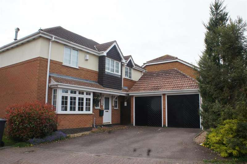 4 Bedrooms Detached House for sale in Rowan Way, Cranfield, Bedford