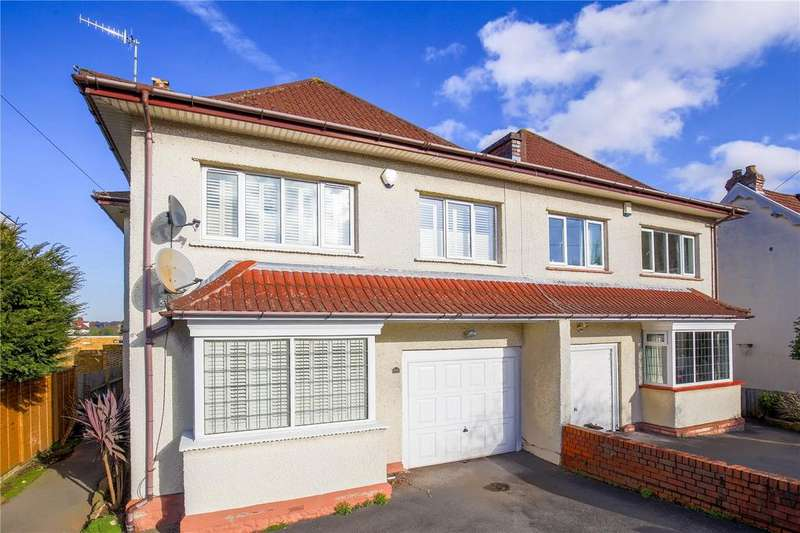 4 Bedrooms Semi Detached House for sale in Parrys Lane, Stoke Bishop, Bristol, BS9