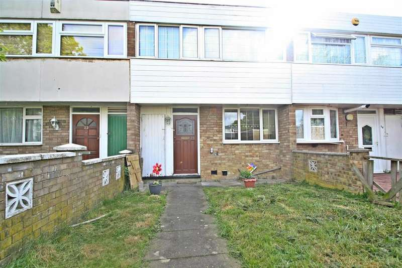 3 Bedrooms Terraced House for sale in Rannoch Close, Bletchley, Milton Keynes