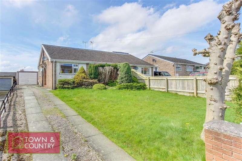 2 Bedrooms Semi Detached Bungalow for sale in Penymynydd Road, Penyffordd, Chester