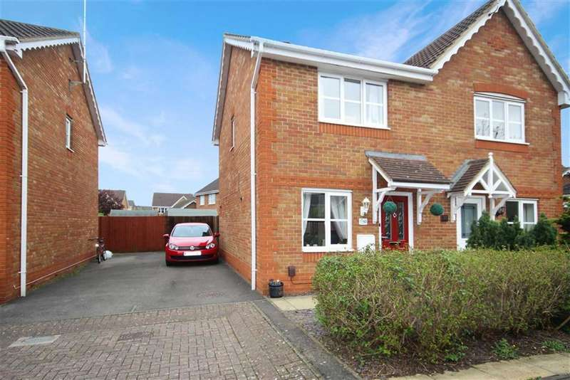 2 Bedrooms Semi Detached House for sale in Thetford Way, Swindon, Wiltshire