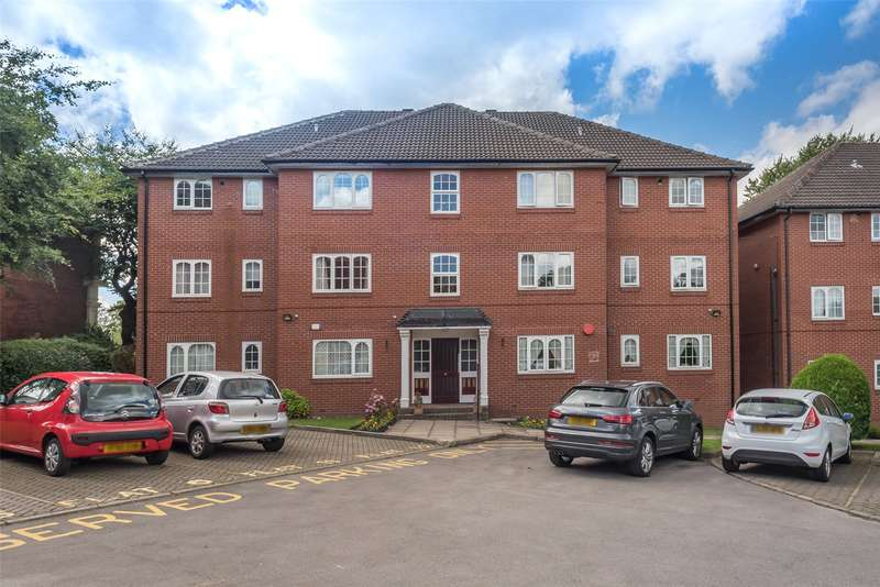 2 Bedrooms Flat for sale in Hadleigh Court, Shadwell Lane, Leeds, West Yorkshire, LS17