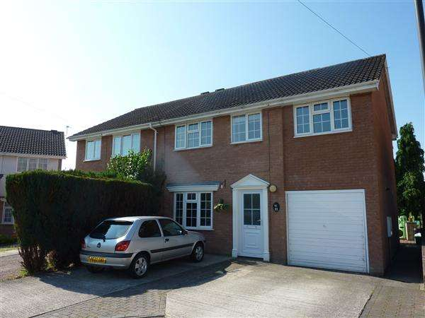 4 Bedrooms Semi Detached House for sale in Orchard Farm Close, Sedbury, Chepstow