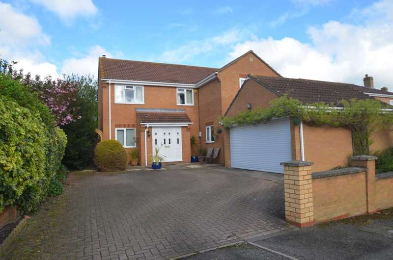 4 Bedrooms Detached House for sale in Butler Way, Kempston