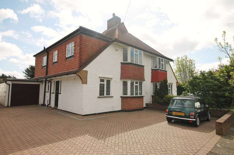 4 Bedrooms Semi Detached House for rent in Knightwood Crescent, New Malden