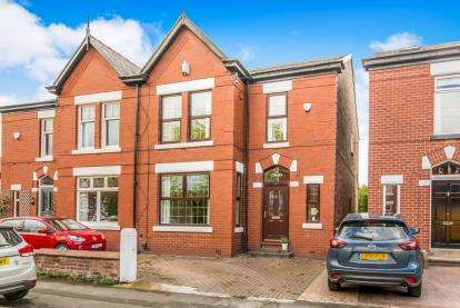 3 Bedrooms Semi Detached House for sale in Beechfield Road, Davenport, Stockport, Cheshire