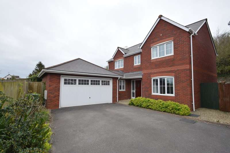 4 Bedrooms Detached House for sale in 3 Old Church Close, South Cornelly, Bridgend, CF33 4SG