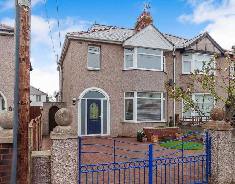 4 Bedrooms Semi Detached House for sale in Stanley Park Avenue, Rhyl