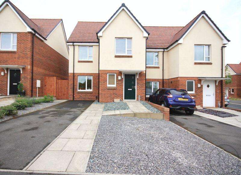 3 Bedrooms Semi Detached House for sale in Poppy Close, Darlington