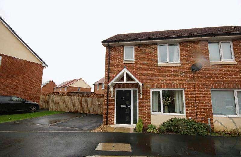 2 Bedrooms Semi Detached House for sale in Celandine Close, Darlington