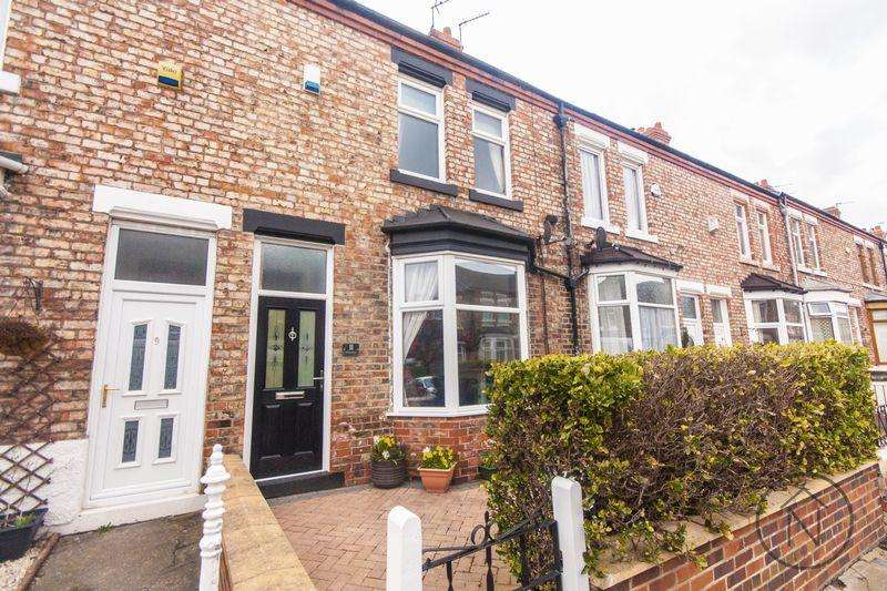 2 Bedrooms Terraced House for sale in Grange Road, Stockton-On-Tees