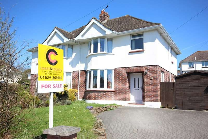 3 Bedrooms Semi Detached House for sale in Applegarth Close, Newton Abbot