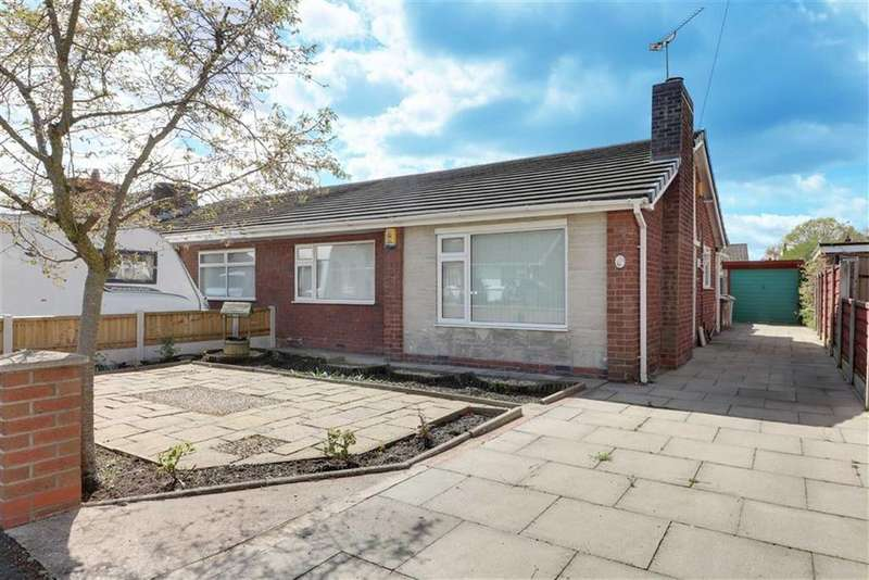 2 Bedrooms Semi Detached Bungalow for sale in Dukes Crescent, Sandbach