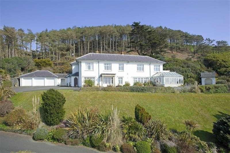 5 Bedrooms Detached House for sale in Brynmorwydd, Aberdyfi, Gwynedd, LL35